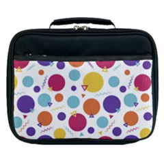 Background Polka Dot Lunch Bag