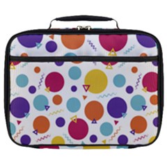 Background Polka Dot Full Print Lunch Bag