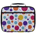 Background Polka Dot Full Print Lunch Bag View1
