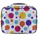 Background Polka Dot Full Print Lunch Bag View2