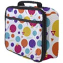 Background Polka Dot Full Print Lunch Bag View4