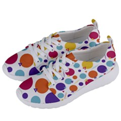 Background Polka Dot Women s Lightweight Sports Shoes