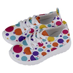 Background Polka Dot Kids  Lightweight Sports Shoes