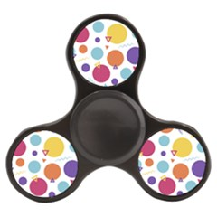 Background Polka Dot Finger Spinner