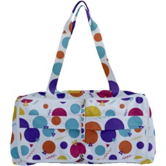 Background Polka Dot Multi Function Bag