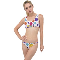 Background Polka Dot The Little Details Bikini Set