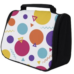Background Polka Dot Full Print Travel Pouch (Big)
