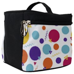 Background Polka Dot Make Up Travel Bag (Big)