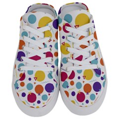 Background Polka Dot Half Slippers