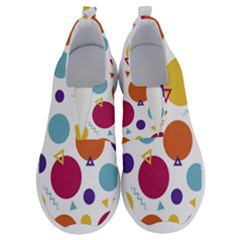 Background Polka Dot No Lace Lightweight Shoes