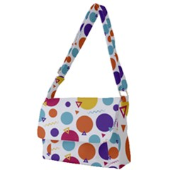 Background Polka Dot Full Print Messenger Bag