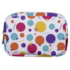 Background Polka Dot Make Up Pouch (Small)