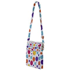 Background Polka Dot Multi Function Travel Bag