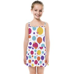 Background Polka Dot Kids  Summer Sun Dress
