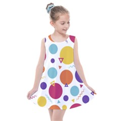 Background Polka Dot Kids  Summer Dress
