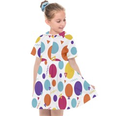 Background Polka Dot Kids  Sailor Dress