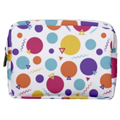 Background Polka Dot Make Up Pouch (Medium)