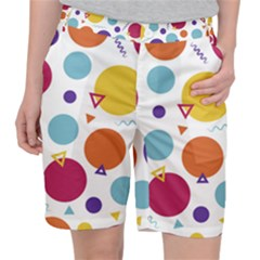 Background Polka Dot Pocket Shorts
