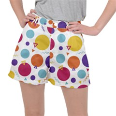 Background Polka Dot Ripstop Shorts