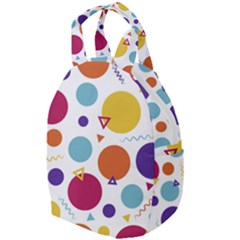 Background Polka Dot Travel Backpacks