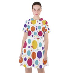 Background Polka Dot Sailor Dress