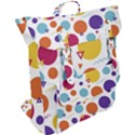 Background Polka Dot Buckle Up Backpack View2
