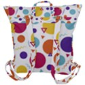 Background Polka Dot Buckle Up Backpack View3