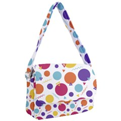 Background Polka Dot Courier Bag