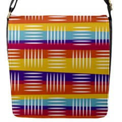 Background Line Rainbow Removable Flap Cover (S)
