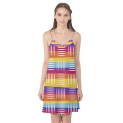 Background Line Rainbow Camis Nightgown
