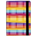 Background Line Rainbow Apple iPad Pro 10.5   Flip Case View2
