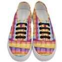 Background Line Rainbow Women s Classic Low Top Sneakers View1