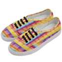 Background Line Rainbow Women s Classic Low Top Sneakers View2