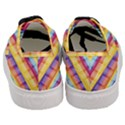 Background Line Rainbow Women s Classic Low Top Sneakers View4
