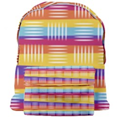Background Line Rainbow Giant Full Print Backpack