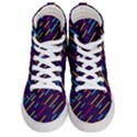 Background Lines Forms Women s Hi-Top Skate Sneakers View1