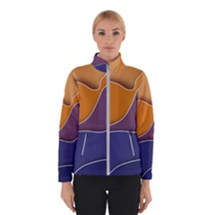 Autumn Waves Winter Jacket