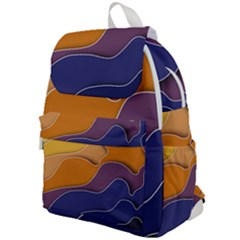 Autumn Waves Top Flap Backpack