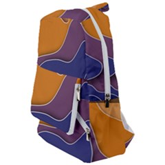 Autumn Waves Travelers  Backpack