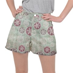 Background Christmas Vintage Old Ripstop Shorts by HermanTelo