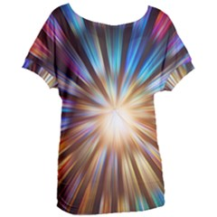 Background Spiral Abstract Women s Oversized Tee by HermanTelo