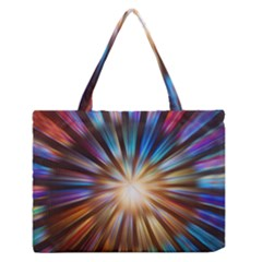Background Spiral Abstract Zipper Medium Tote Bag by HermanTelo