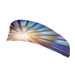 Background Spiral Abstract Stretchable Headband by HermanTelo