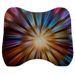 Background Spiral Abstract Velour Head Support Cushion