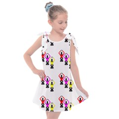Ballet Plie Dance Ballerina Kids  Tie Up Tunic Dress