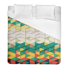 Background Triangle Duvet Cover (full/ Double Size)