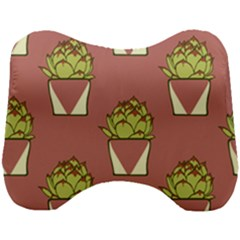Cactus Pattern Background Texture Head Support Cushion
