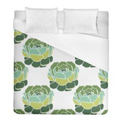 Cactus Pattern Duvet Cover (full/ Double Size) by HermanTelo