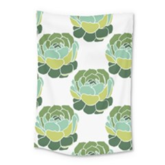 Cactus Pattern Small Tapestry by HermanTelo