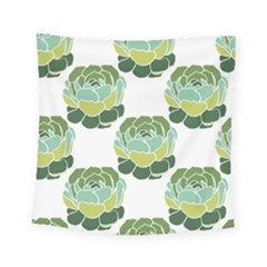 Cactus Pattern Square Tapestry (small)
